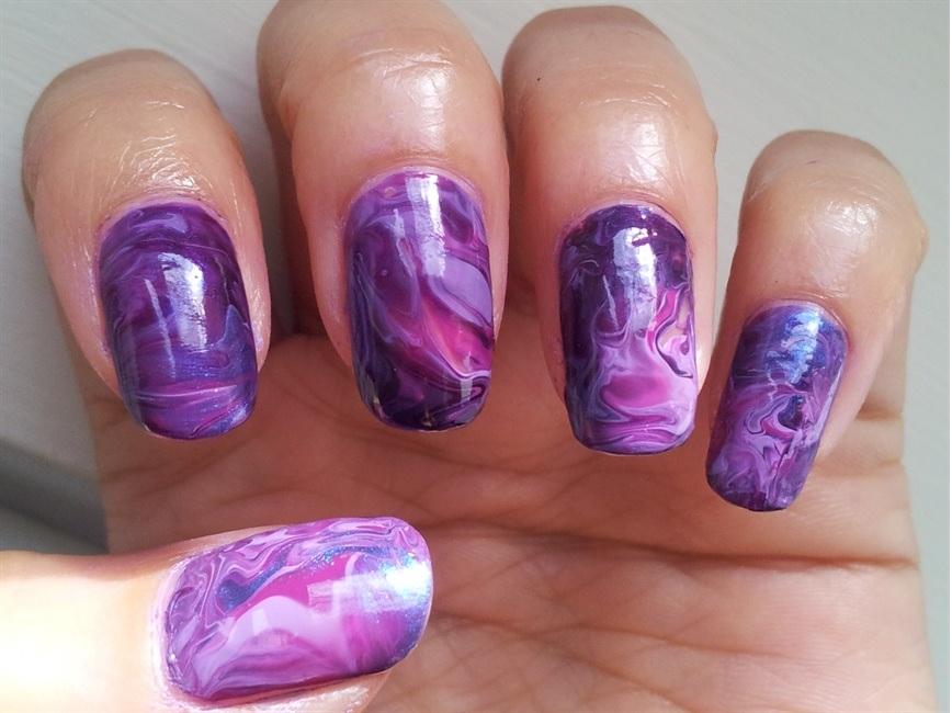 Tie-Dye Nail Art Designs